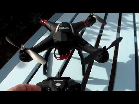 Banyangtoys X21 Drone Quadcopter Unboxed and Flying - with Test Flying Clips