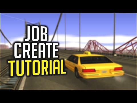 [Tutoriale Scripting] Crearea unui job in SA:MP (#01)