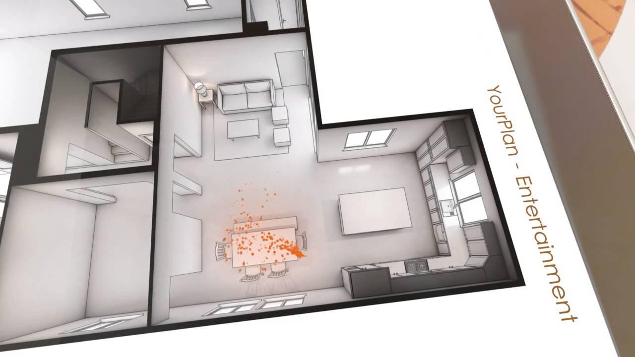 3D View Of Shea Homes Plan 403 | Shea 3D | Erie Colorado - YouTube