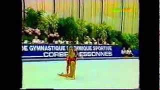 Maria PETROVA (BUL) clubs - Corbeil 1993 EF