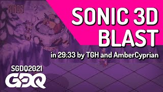 Sonic 3D Blast by TGH and AmberCyprian in 29:33 - Summer Games Done Quick 2021 Online