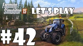 Lets Play Farming Simulator 15 - Episode 42 - New Mixer Wagon