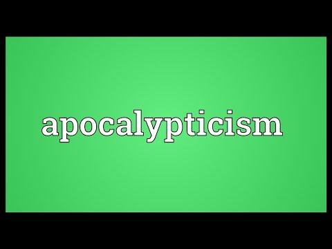 Header of apocalypticism