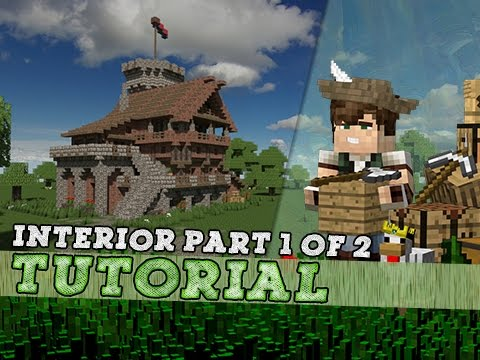 Minecraft Tutorial: Hall Of Orders Interior! Part 1/2