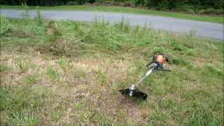 Blade Echo Weed Eater Destroying Weeds
