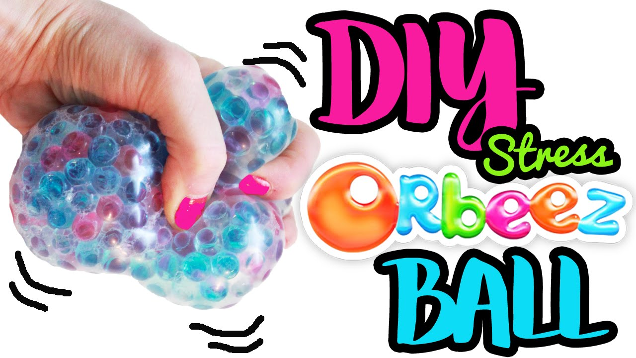 Diy Squishy Ninja Balls : How to Make Stress Balls Orbeez Super Big Squishy Ball DIY Easy Craft ToyCaboodle - YouTube