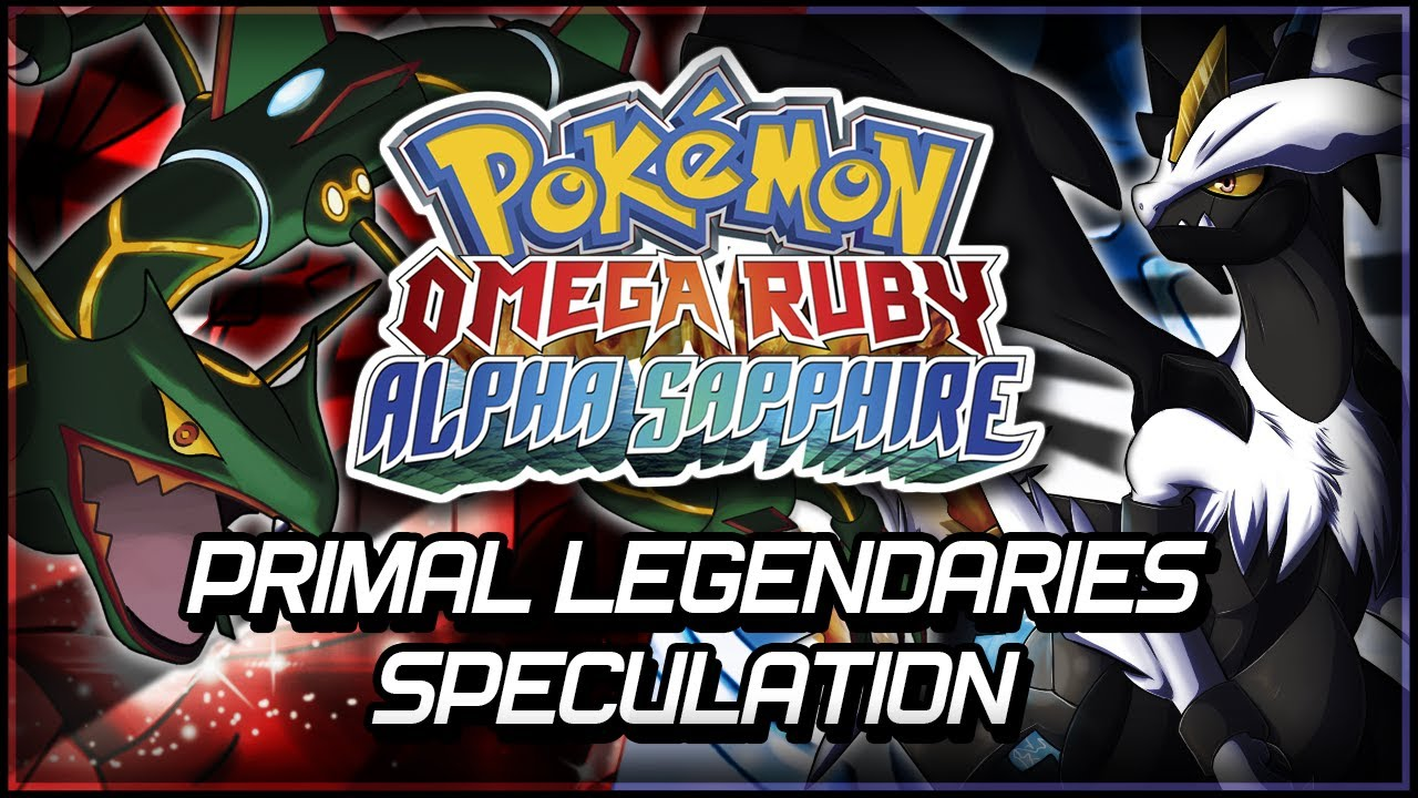 Pok 233 Mon Omega Ruby And Alpha Sapphire Primal Legendaries