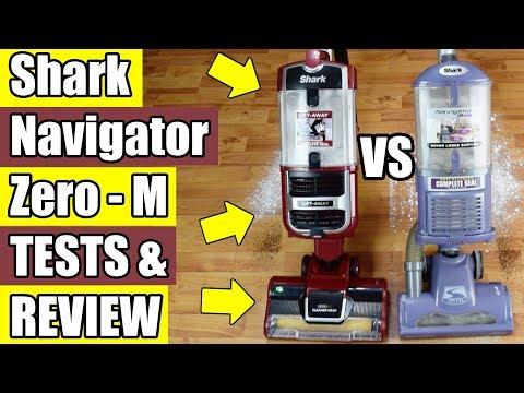 Shark Navigator Lift Away ZERO M Review & Comparison ZU561 ZU562