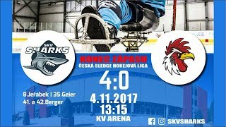 Sharks K.Vary - Olomouc 4:0 (4.11.2017)