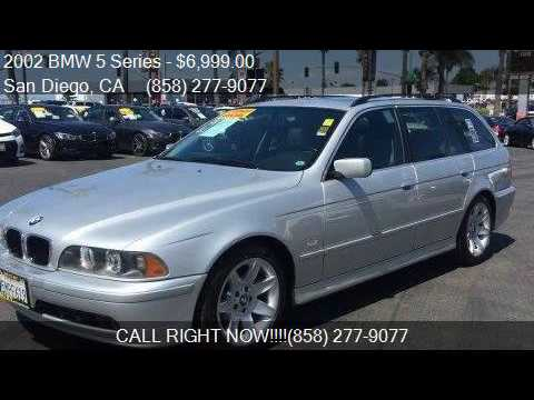2002 Bmw 5 Series 525i 4dr Sport Wagon For Sale In San Diego Youtube