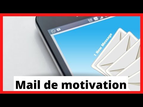 ENTRETIEN D'EMBAUCHE: LE MAIL DE MOTIVATION ✅