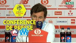 Conférence de presse LOSC - Olympique de Marseille (1-2) / 2019-20