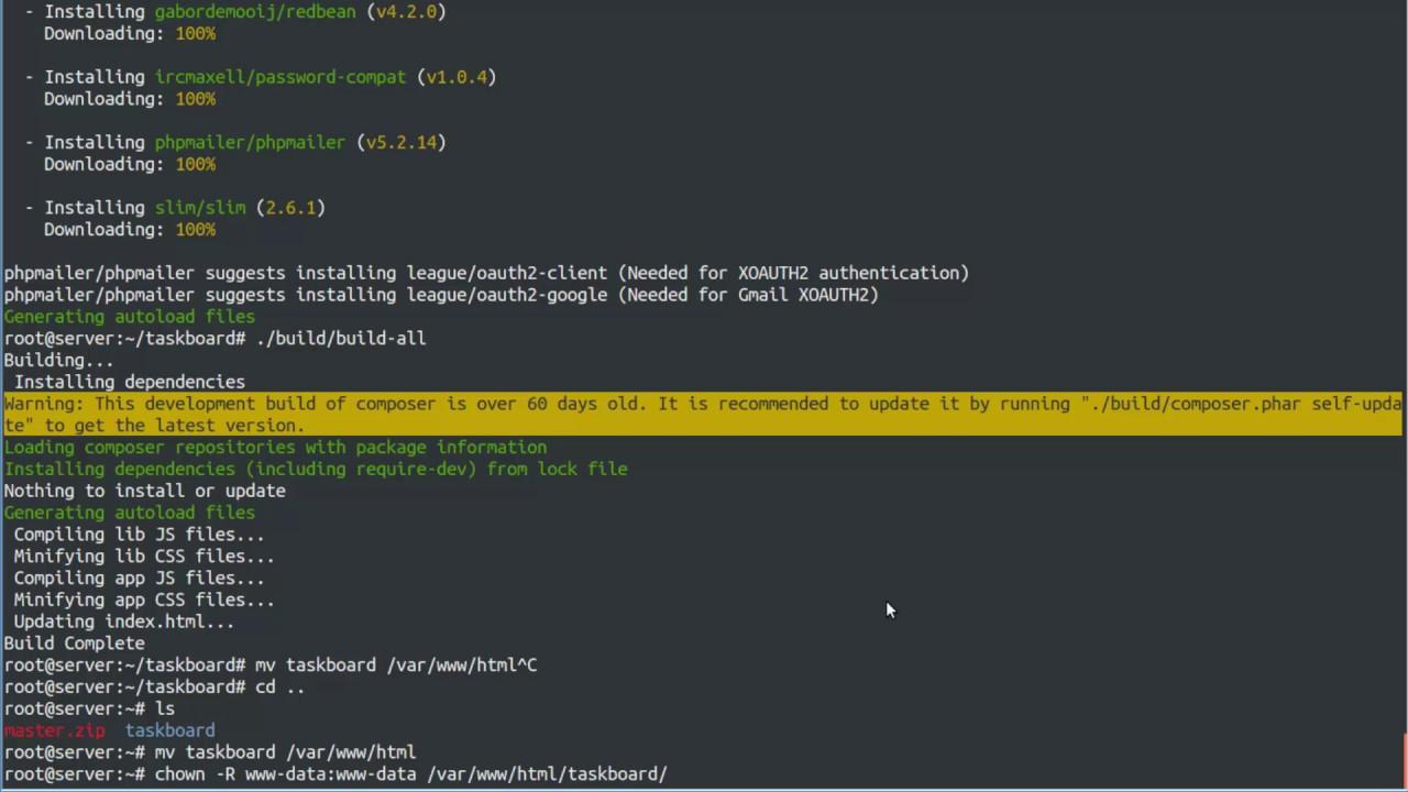 How to Install TaskBoard on Ubuntu 14 04 Linux