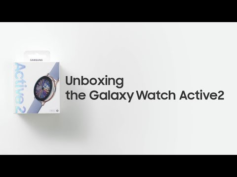 Galaxy Watch Active2: Official Unboxing   Samsung