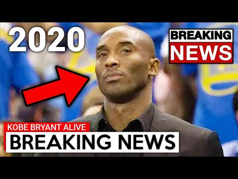 We Lied To You, Kobe Bryant Is Still Alive...