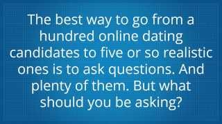 How to ask a girl online dating