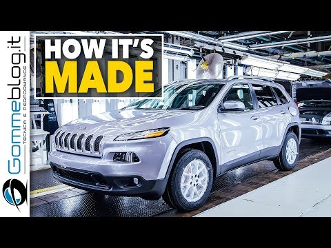 Jeep Cherokee CAR FACTORY - How It's Made Production Assembly Line