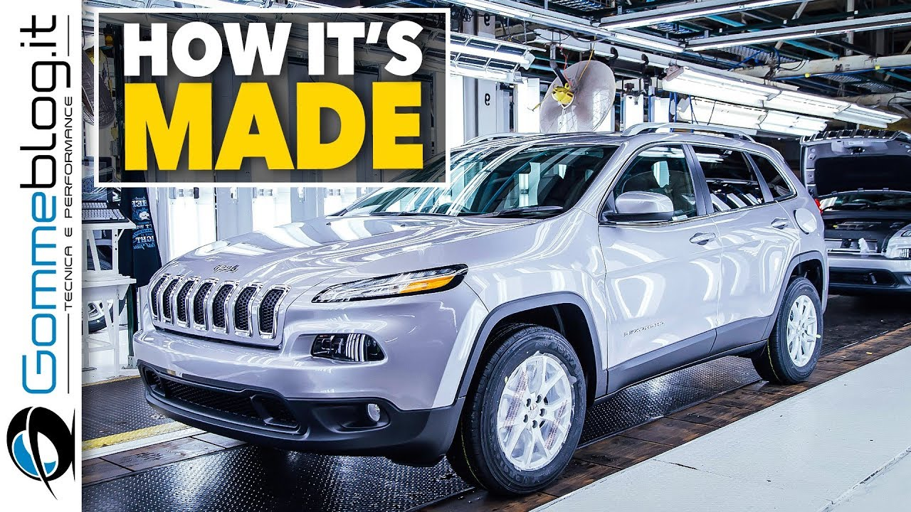 Jeep Cherokee CAR FACTORY   How Itu0027s Made Production Assembly Line