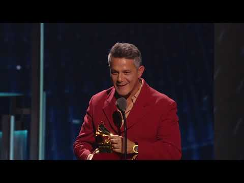 Alejandro Sanz and Camila Cabello Win Record Of The Year | 2019 ...