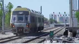 UP Express Trains Testing On The CN Weston Subdivision