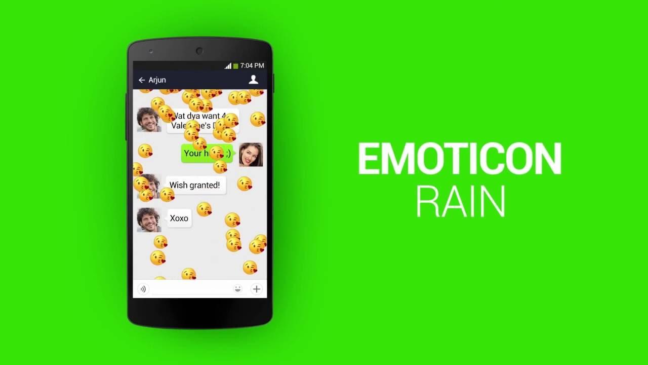 WeChat Quickies Surprise Emoticon Rain