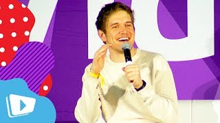 "Bo Burnham Thinks Self Obsession Is The Norm Today ""Eighth Grade"" Q&A at VidCon"