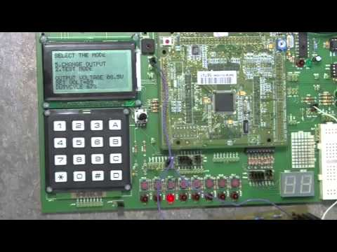 electrical  electronic engineering degree microcontroller project youtube