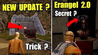 PUBG MOBILE NEW ERANGEL 2.0 MAP UPDATE ? NEW SECRET LOCATION AND TIPS AND TRICK !