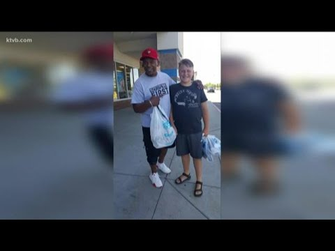 Producer Michelle - Stranger Buys School Shoes For Boy In Need