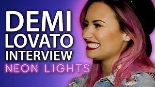 Demi Lovato Neon Lights Tour Interview - EXCLUSIVE