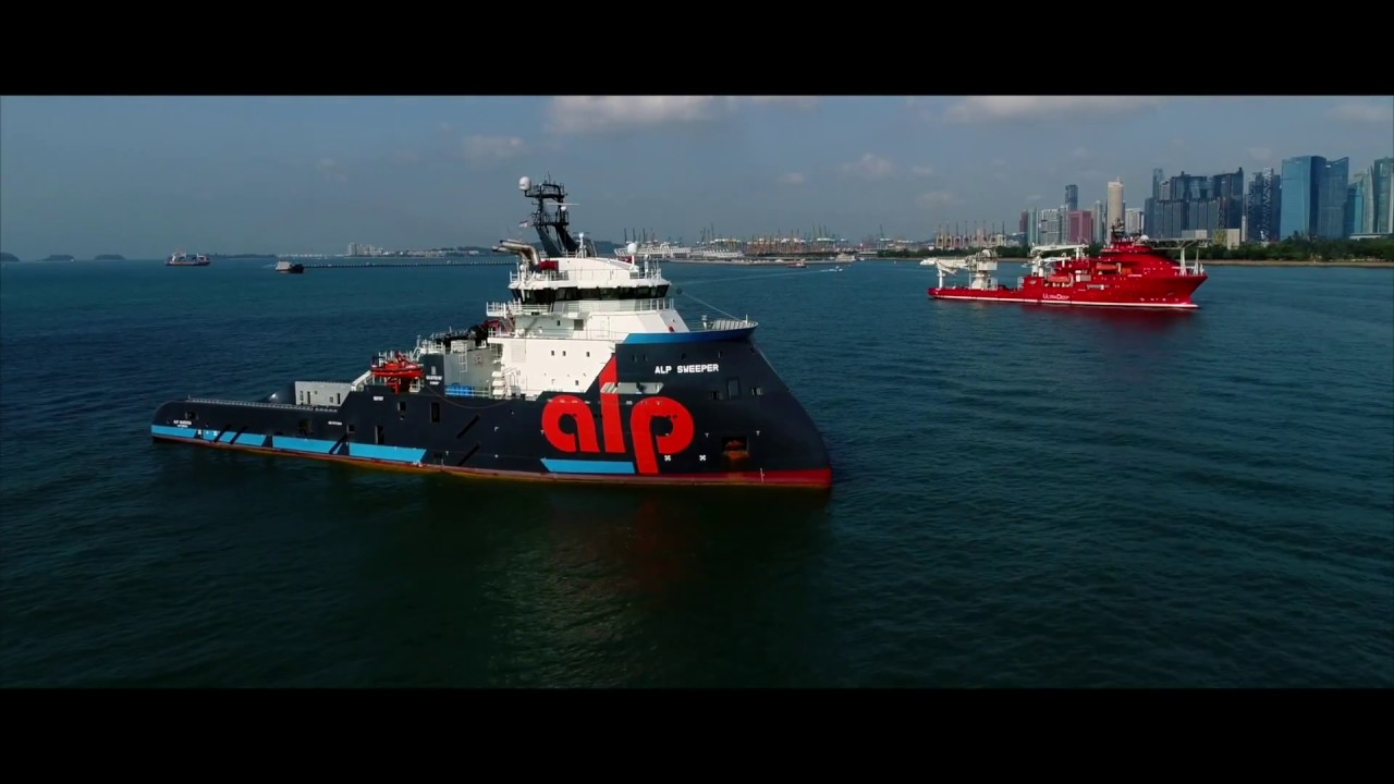 ALP Sweeper ALP Keeper impress at the Singapore anchorage