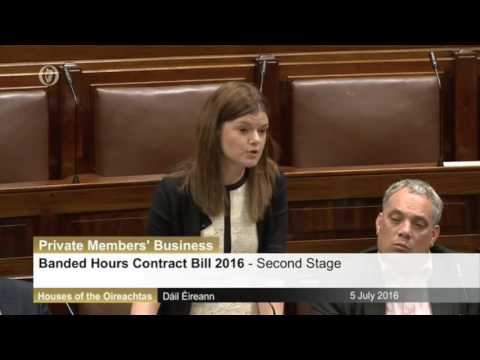 Sinn Fein's Kathleen Function and Peadar Toibin respond to government criticism on Banded Hours Bill