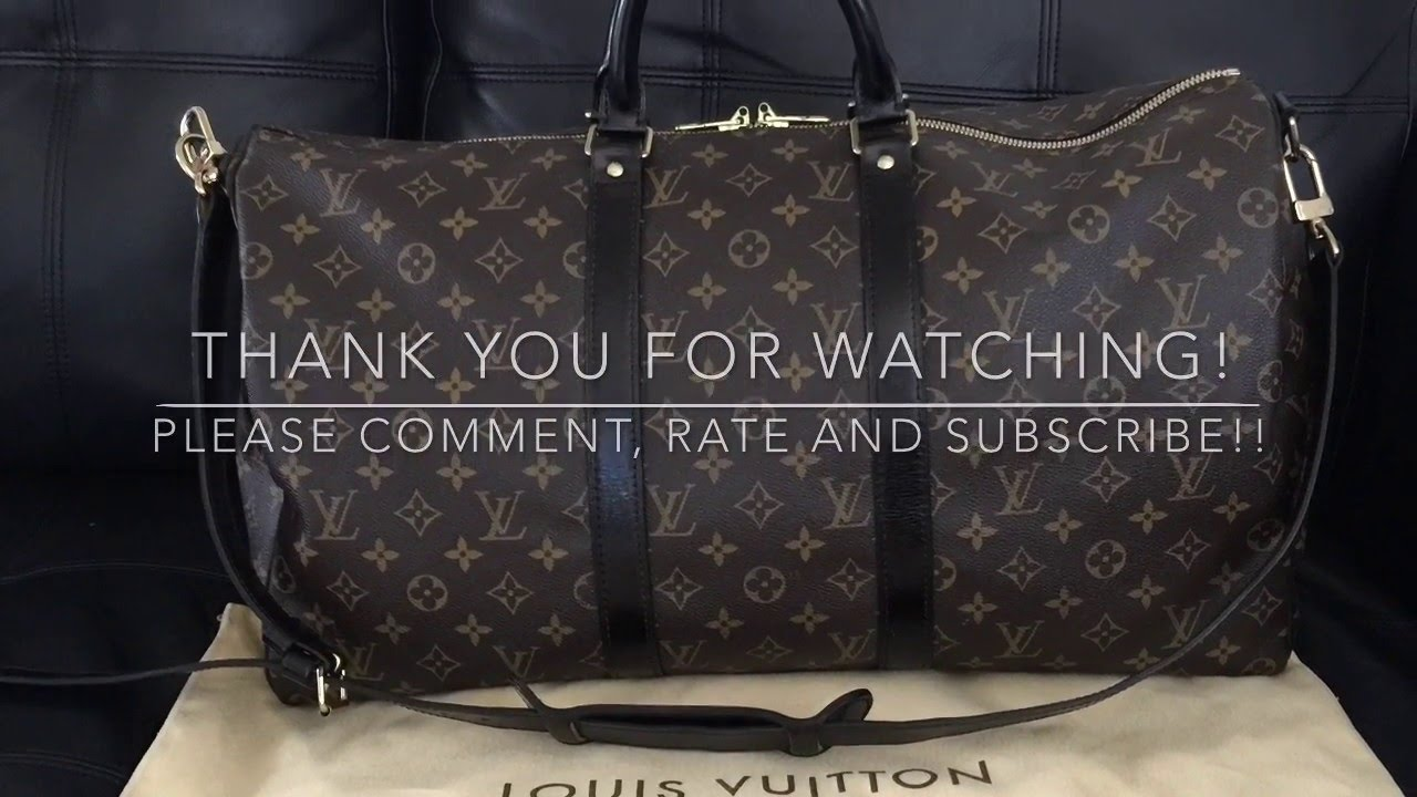 a8fae7d90a6 DIY: LOUIS VUITTON KEEPALL 50 MAKEOVER (How to Dye Vachetta) by pursejunky