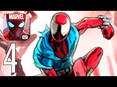 MARVEL Spider-Man Unlimited [iOS Android] Gameplay Walkthrough Part 4 - 동영상