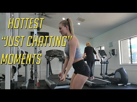Hottest just chatting moments #30 (THICC)  🍑🍑