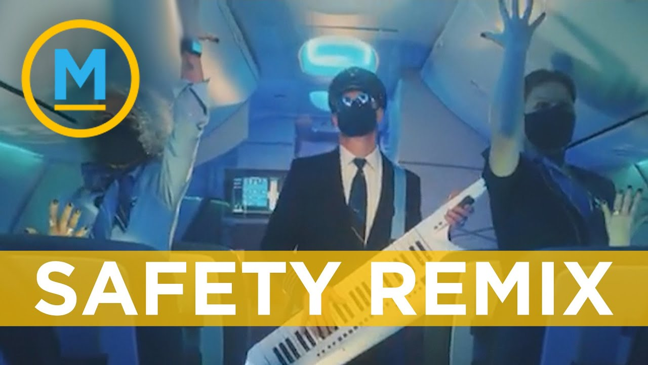Airline parodies classic 80's song for new 'safety dance' commercial | Your Morning
