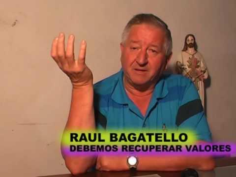ENTREVISTA DE CARINA DENTE A RAUL BAGATELLO
