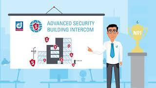 Advanced Security Building Intercom