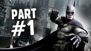 Batman: Arkham Origins Walkthrough Part 1 - The Legend Begins Gameplay (Let's Play Playthrough)