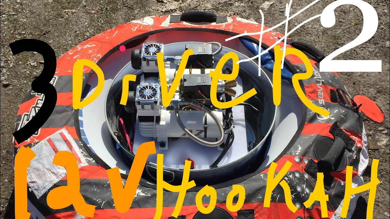 12v hookah compressor homemade real deal 3 diver