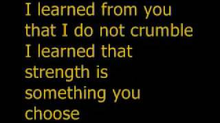 I learned from you - Miley Cyrus Ft. Billy Ray Cyrus