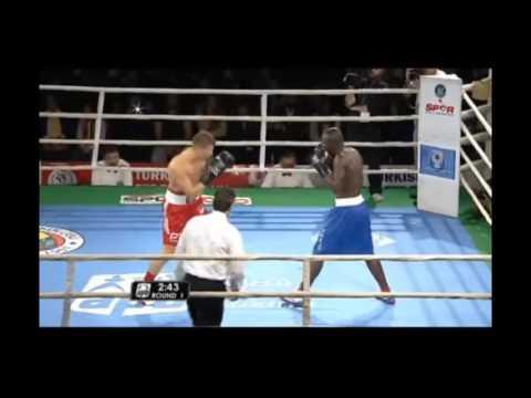 Adem Kılıcci boks maçı