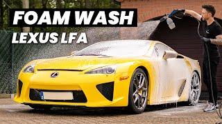 Lexus LFA Foam Wash - Exterior Car Detailing ASMR