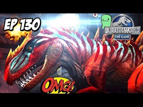 METRIACANTHOSAURUS!!! EL CARNIVORO LEGENDARIO! NUEVO DINOSAURIO! // #JurassicWorld: El Juego #130 HD - 동영상