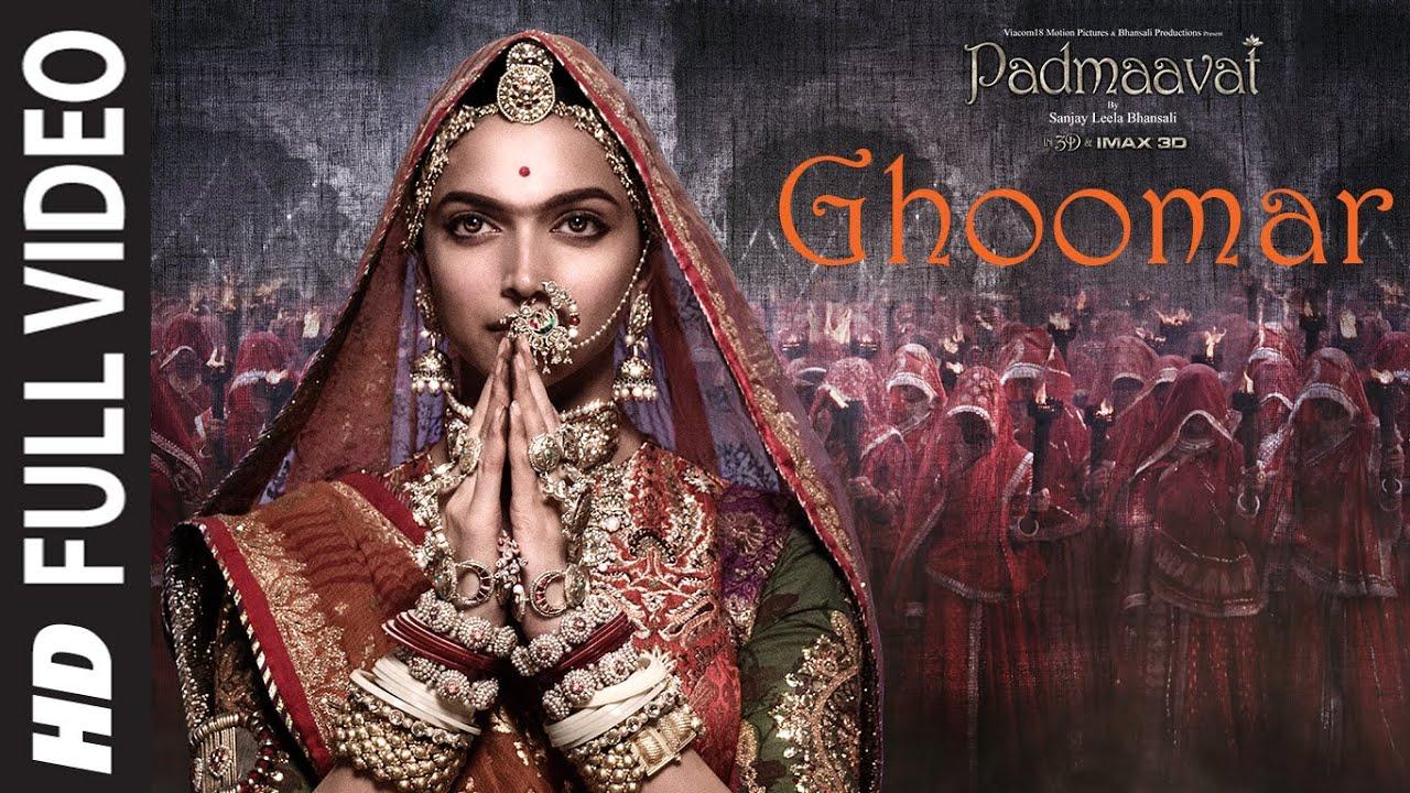 Download Full Video:Ghoomar|Padmaavat|Deepika Padukone Shahid Kapoor Ranveer Singh|Shreya Ghoshal SwaroopKhan