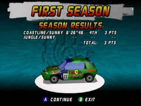 Top Gear Rally N64 Gameplay