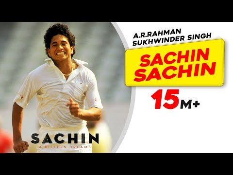 Sachin Sachin | Sachin A Billion Dreams | A R Rahman | Sukhwinder Singh | Irshad Kamil | Kaly