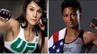 Alexa Grasso Vs Angela Overkill Hill Set Fot UFC Fight Night 135 August 25!!!!
