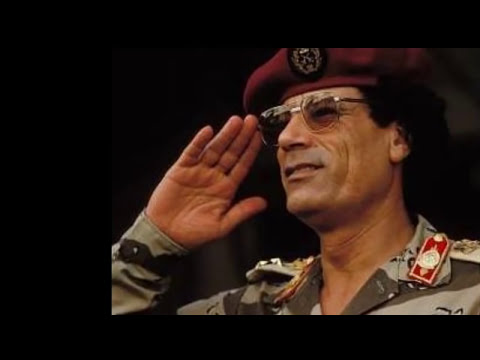 Les vraies raisons de l'assassinat du guide libyen Kadhafi