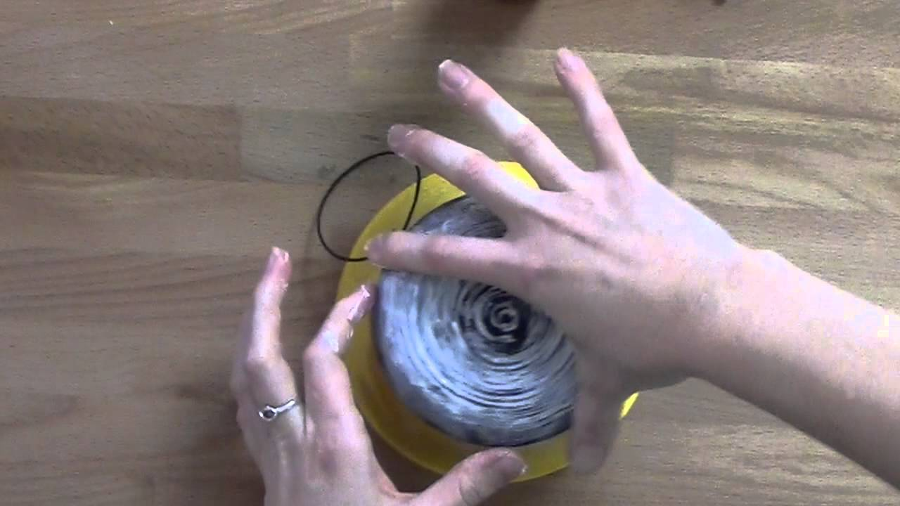 Decorating With Raffia Diy Raffia And Twine Bowls For Decorating Youtube